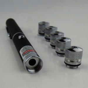 Laser Pointer cu 5 Capuri