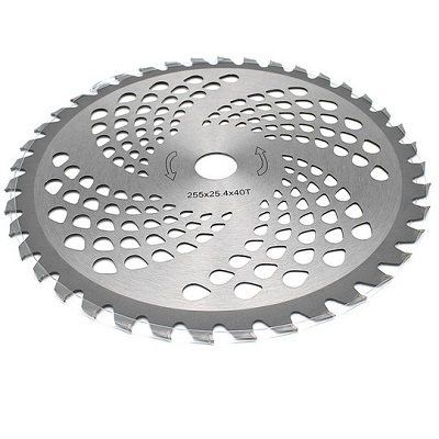 Disc Motocoasa Nr.10, 255x25.4x40T, Dinti Vidia,Disc Circular