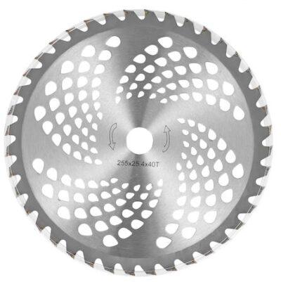 Disc Motocoasa Nr.10, 255x25.4x40T, Dinti Vidia,Disc Circular Teox.ro