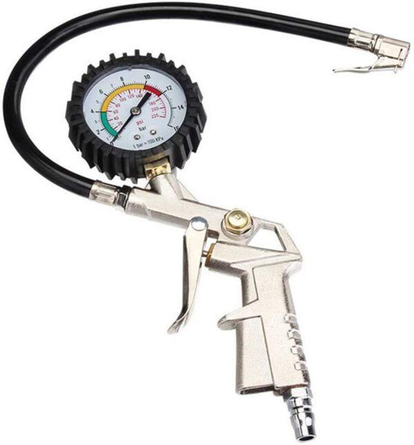 Pistol Umflat Pentru Compresor cu Manometru