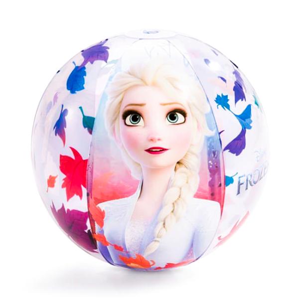 Minge Gonflabila Pentru Plaja Cu Frozen,Diametru 51 cm