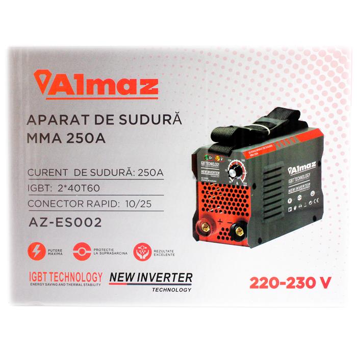 Aparat Sudura ALMAZ MMA 250A ( AZ-ES002 ) , Invertor Teox (3)