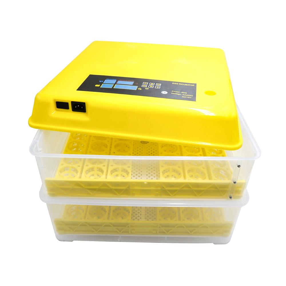 Incubator 96 oua, sistem automat de intoarcere, control al umiditatii si al temperaturii, Teox