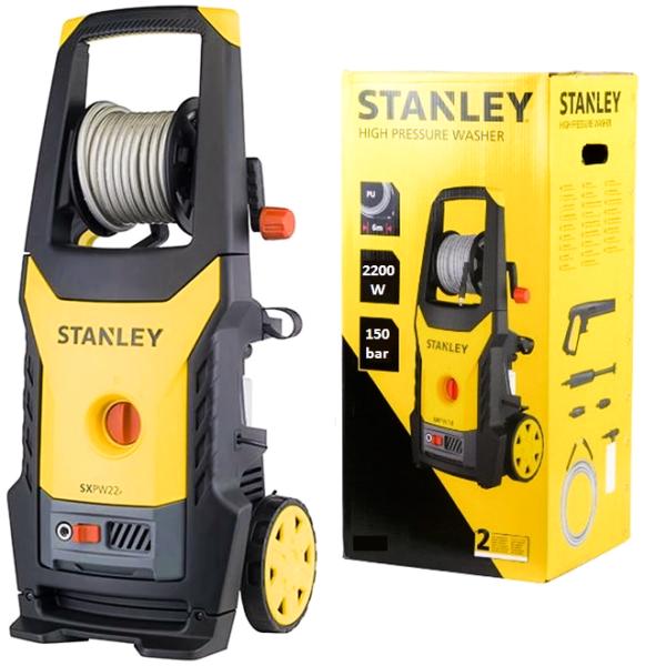 Aparat Spalat Presiune 2200 W,Stanley,440 lh,150 bar,Accesorii Incluse,Teox.ro