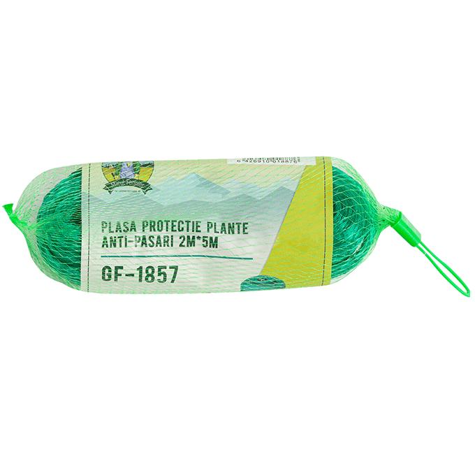 Plasa Protectie Plante Anti-pasari GF-1857, 2 x 5 metri, Verde Teox